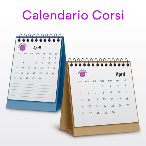 Calendario corsi New fitness